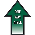 Social Distancing One Way Aisle Traffic Flow Adhesive Floor Decal