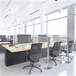 Clear Plexiglass Workstation Divider