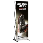 HopUp 3 ft (1x3) Straight Tension Fabric Display [Complete]