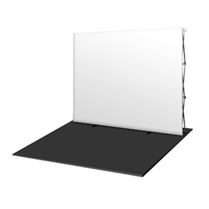 HopUp 8 ft (3x3) Straight Tension Fabric Display [Blank Graphics Only]