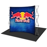 HopUp 10 ft (4x3) Curved Tension Fabric Display [Graphics Only]