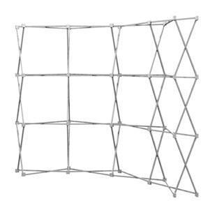 HopUp 10 ft (4x3) Curved Tension Fabric Display [Hardware Only]