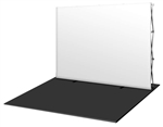 HopUp 10 ft (4x3) Straight Tension Fabric Display [Blank Graphics Only]