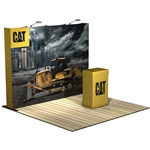 HopUp 10 ft (4x3) Straight Tension Fabric Display [Kit]