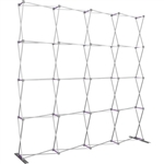 HopUp 10 ft Straight Extra Tall Tension Fabric Display [Hardware Only]
