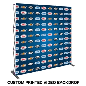 HopUp Lite 8ft (3x3) Straight Tension Fabric Display