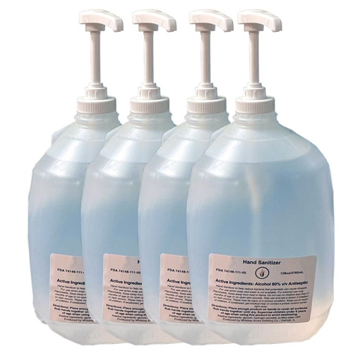 Hand Sanitizer Liquid - 4 Gallons