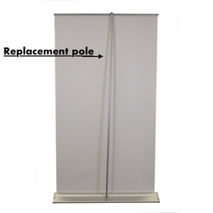 Retractable Banner Replacement Pole