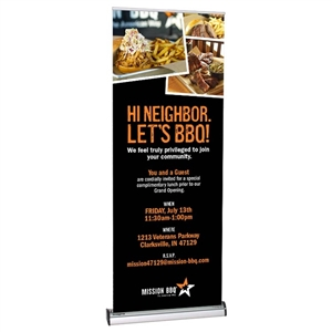 Imagine 850 Retractable Banner Stand [Graphics Only]