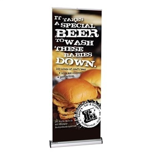 Imagine Retractable Banner Stand [Graphics Only]