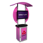 Linear Trade Show Kiosk 1 Multimedia [Graphics Only]