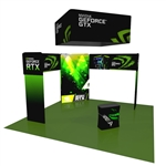 Mesa 20X20 Tension Fabric Trade Show Exhibit Kit