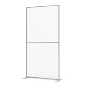 Sneeze Guard Wall 46w x 92h Clear Plexiglass Panel