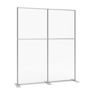 Sneeze Guard Wall 64w x 78h Clear Plexiglass Panel