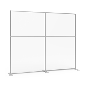 Sneeze Guard Wall 92w x 78h Clear Plexiglass Panel