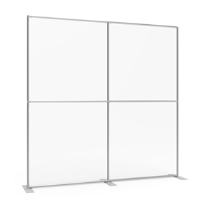 Sneeze Guard Wall 92w x 92h Clear Plexiglass Panel