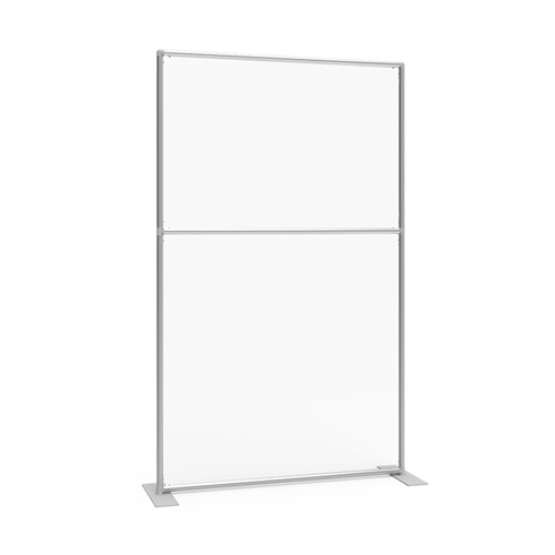 Sneeze Guard Wall 47w x 78h Clear Plexiglass Panel
