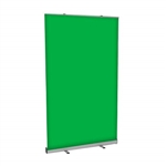 Green Screen Video Backdrop - 4 FT w x 7 FT h