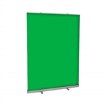Green Screen Video Backdrop - 5 FT w x 7 FT h
