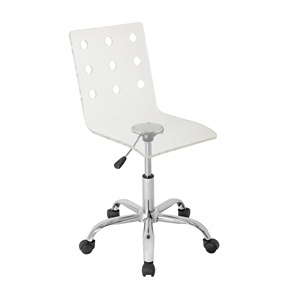 Swiss  Acrylic Office Chair