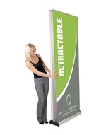 Orient 800 Double Retractable Banner Stand [Graphics Only]