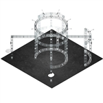 Atlas 20X20 Orbital Express Truss Exhibit Kit [Hardware only]