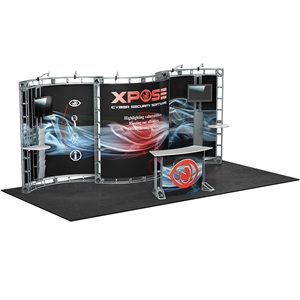 Apex 10X20 Orbital Express Truss Exhibit Kit [Graphics only]