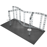 Callisto 10X20 Orbital Express Truss Exhibit Kit [Hardware only]