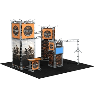 Calypso 20X20 Orbital Express Truss Exhibit Kit [Graphics only]