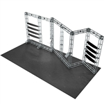 Felix 10X20 Orbital Express Truss Exhibit Kit [Hardware only]