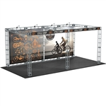 Luna 10X20 Orbital Express Truss Exhibit Kit [Complete]