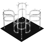 Draco 20' x 20' Orbital Truss System [Hardware Only]