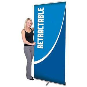 Pacific 1000 Retractable Banner Stand [Hardware Only]