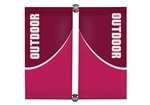 Parkway Double-Span Outdoor pole Banner [Hardware Only]