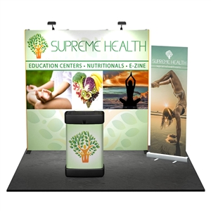 10x10 Straight Tradeshow Starter Display [Kit]