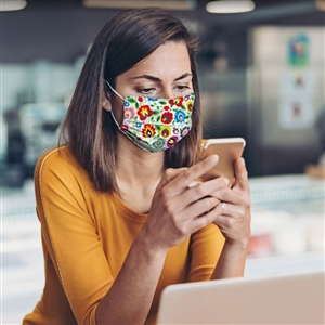 Stock Pattern Designer Cloth Face Masks (3-Pack)