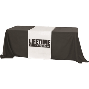 2 Foot Premium Dye Sub Table Runner - Full
