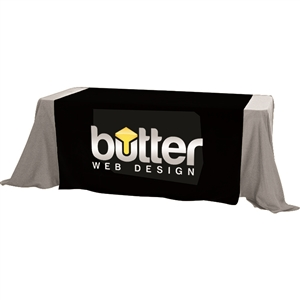 5 Foot Premium Dye Sub Table Runner Full