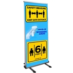 Thunder Outdoor Retractable Banner Stand