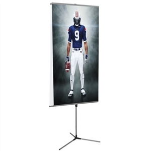 Trio Telescopic Banner Stand [Graphics Only]