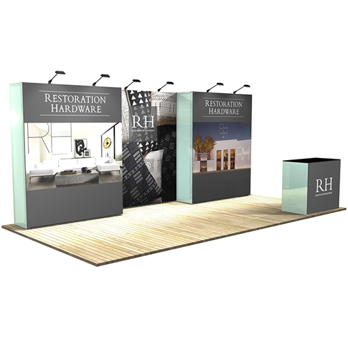 10 ft x 20 ft Vector Frame 5 Display Stand [Kit]