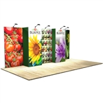 10 ft x 20 ft Vector Frame 6 Display Stand [Graphics Only]