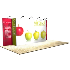 10 ft x 20 ft Vector Frame 7 Display Stand [Graphics Only]