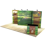 10 ft x 20 ft Vector Frame 8 Display Stand [Kit]