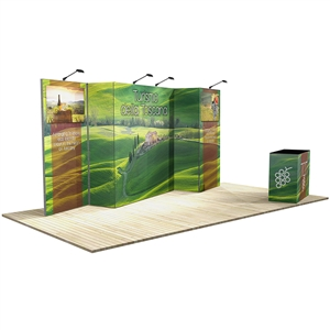 10 ft x 20 ft Vector Frame 8 Display Stand [Graphics Only]
