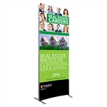 Vector 3 ft x 8 ft Curved Banner 1 [Double-sided]