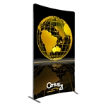 Vector 5 ft x 8 ft Curved Banner 2
