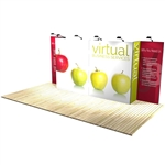 10 ft x 20 ft Vector Frame 7 Display Stand [Kit]