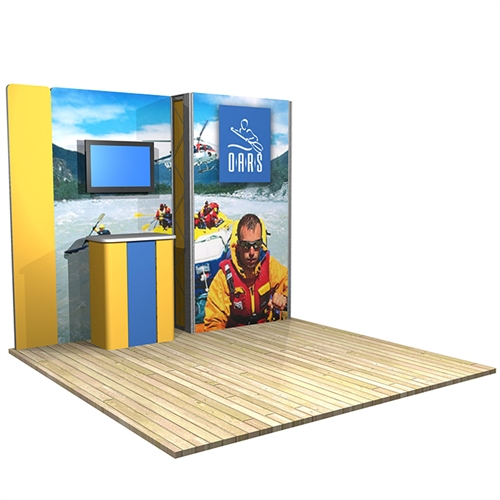 10 ft x 10 ft  Illuminated Vector Frame Kit 16