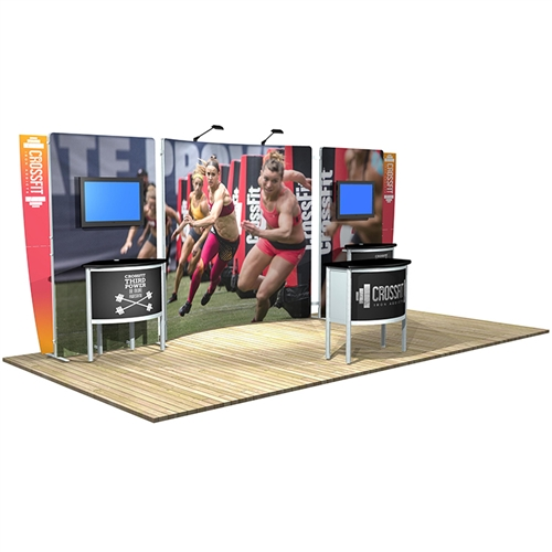 10 ft x 20 ft Vector Frame 22 Display [Graphics Only]